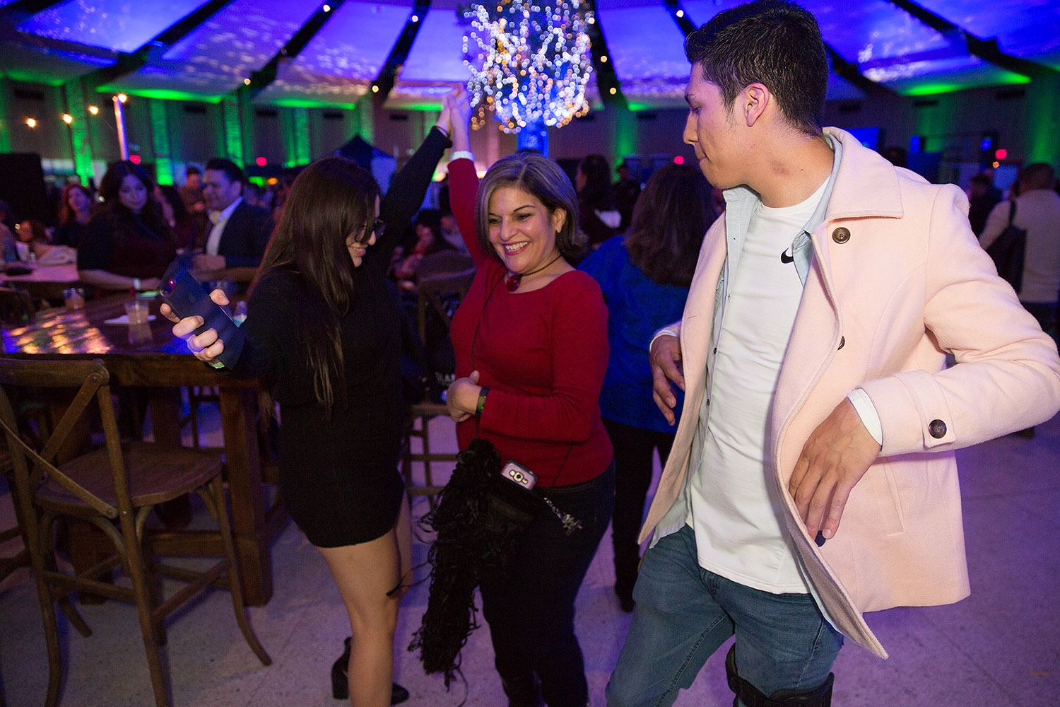 Cocktail enthusiasts attend Cocktails in the Enchanted Forest during the 2019 San Antonio Cocktail Festival Saturday night at Villita Assembly Hall.
