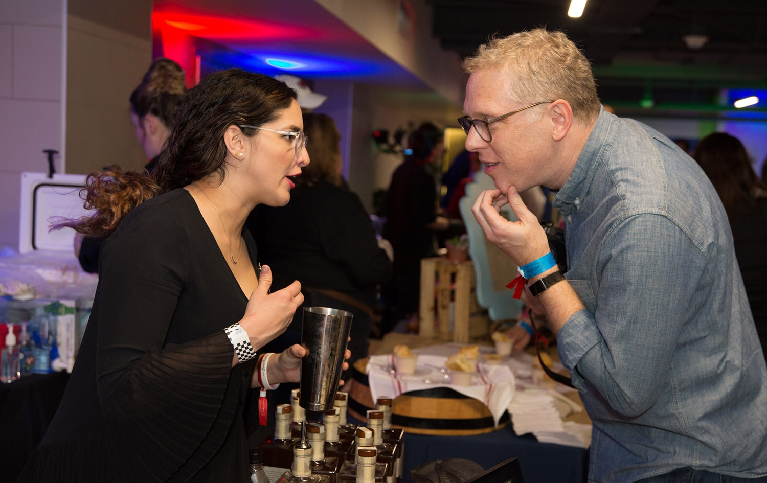 Come & Taste It! event kicks off the 2019 San Antonio Cocktail Festival Thursday night at Battle for Texas: The Experience at Rivercenter Mall.