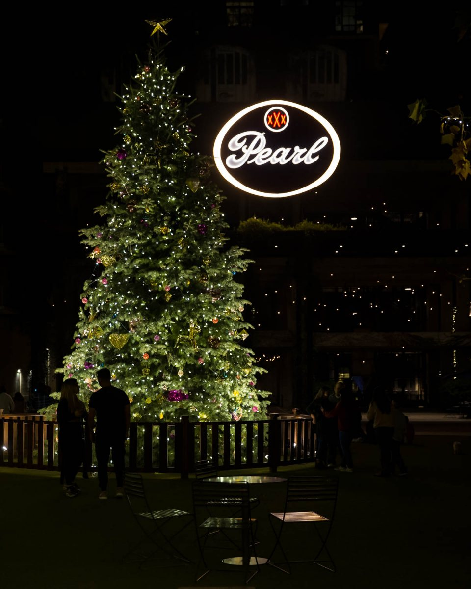 The holiday scene at the Pearl taken Nov. 27, 2020. Photo by Chris Stokes | Heron contributor