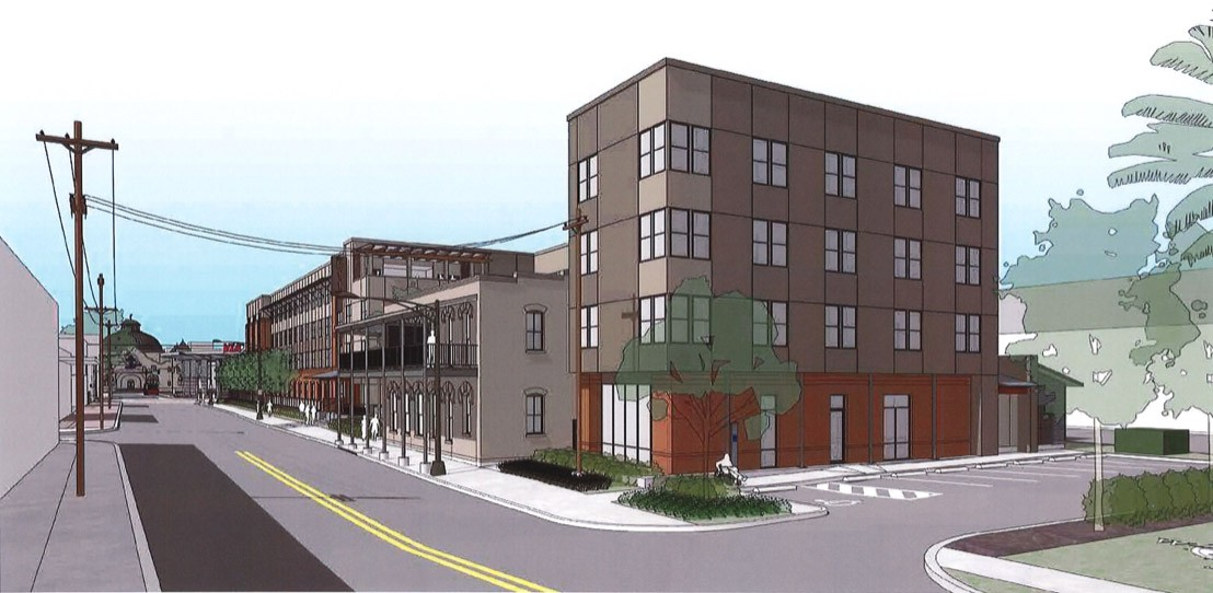 Cattleman Square Lofts, 811 W. Houston St. Courtesy Alamo Community Group | Sage Group