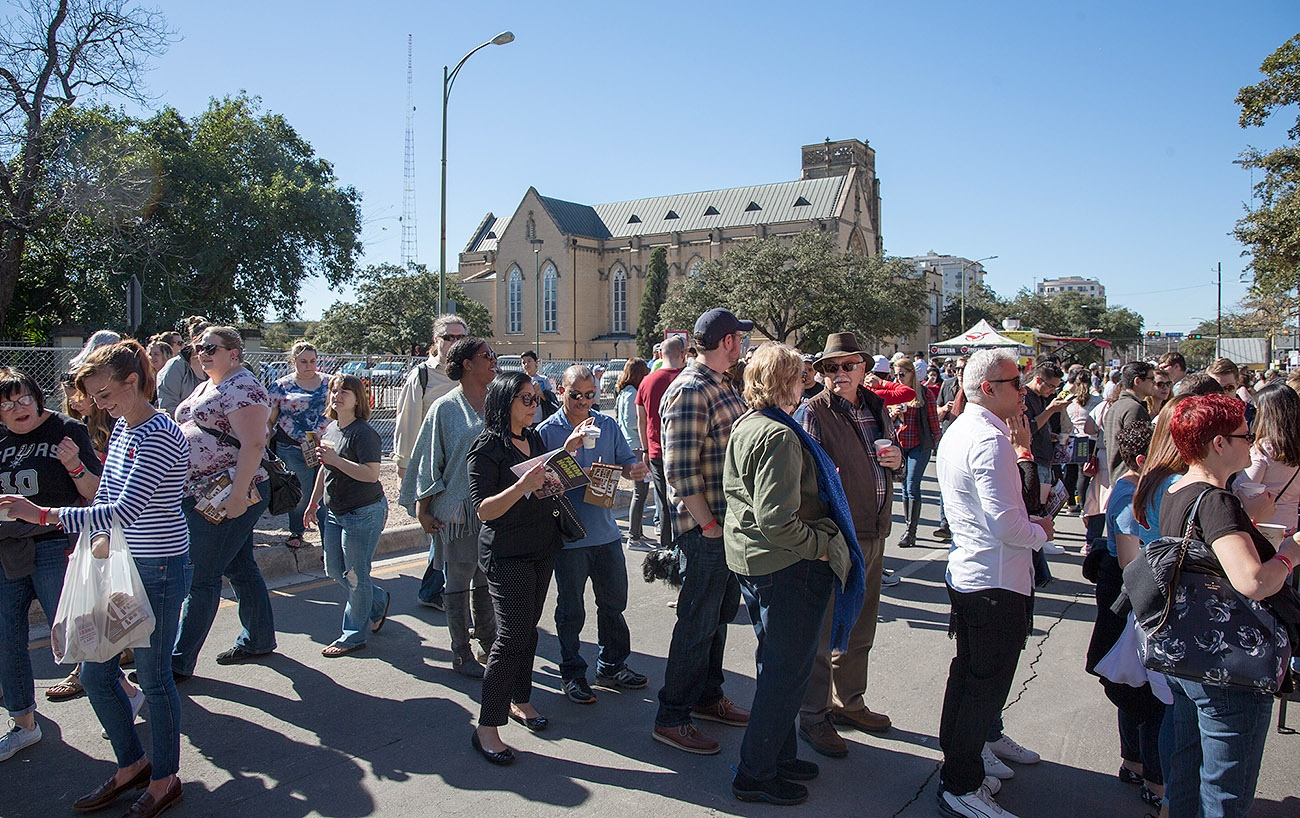 Java lovers descended on La Villita on Saturday for the sold out San Antonio Coffee Festival. <em><b>Photo by B. Kay Richter | Heron contributor</b></em>