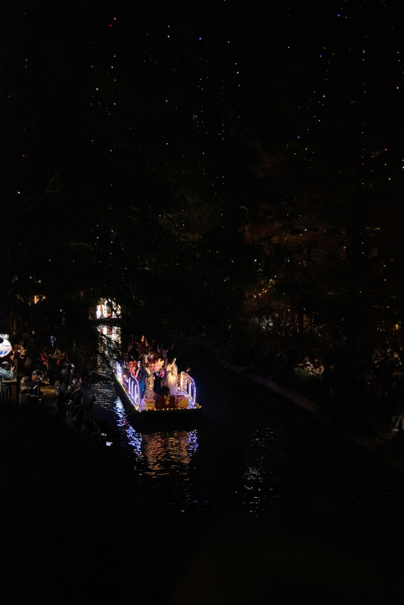 The 2018 Ford Holiday River Parade. <em><b>Photo by V. Finster | Heron</b></em>