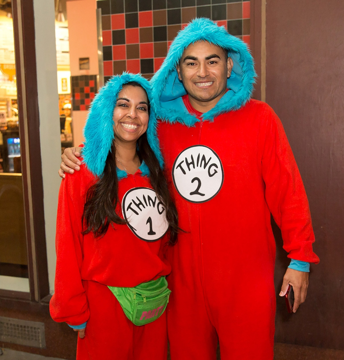 Pub runners have some drinks and bust a few moves during the onesie-themed Pub Run at Moses Rose's Hideout, Jan. 4, 2019.<em><b>Photo by B. Kay Richter   Heron contributor</b></em>