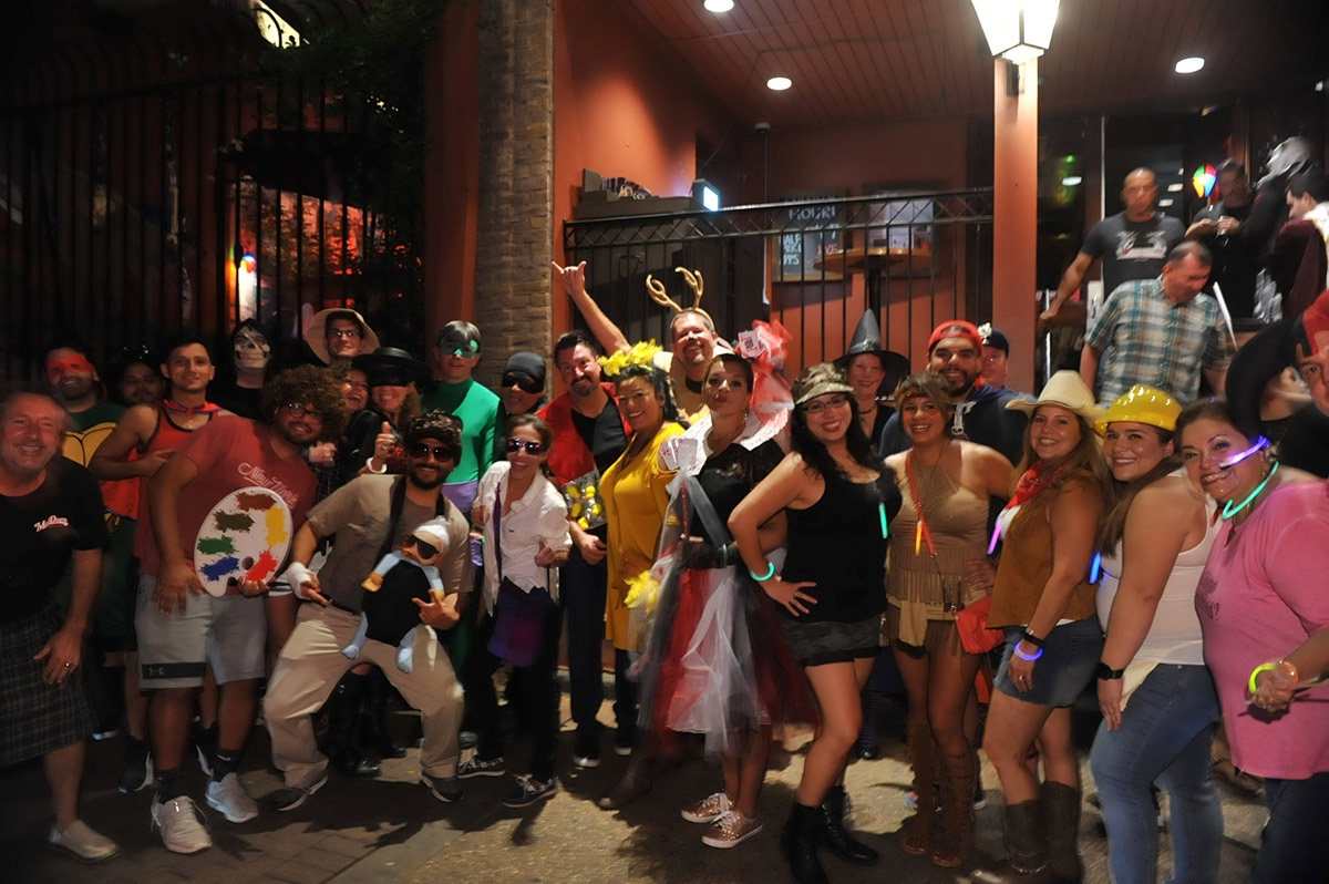 The Halloween edition of the monthly Pub Run was held Friday, Oct. 5. <em><b>Photo by Gonzalo Poza   Heron contributor</b></em>