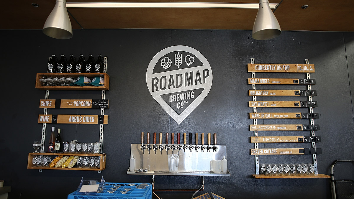 Roadmap Brewing Co. is located at 723 N. Alamo St. <em><b>Photo by Ben Olivo | Heron</b></em>
