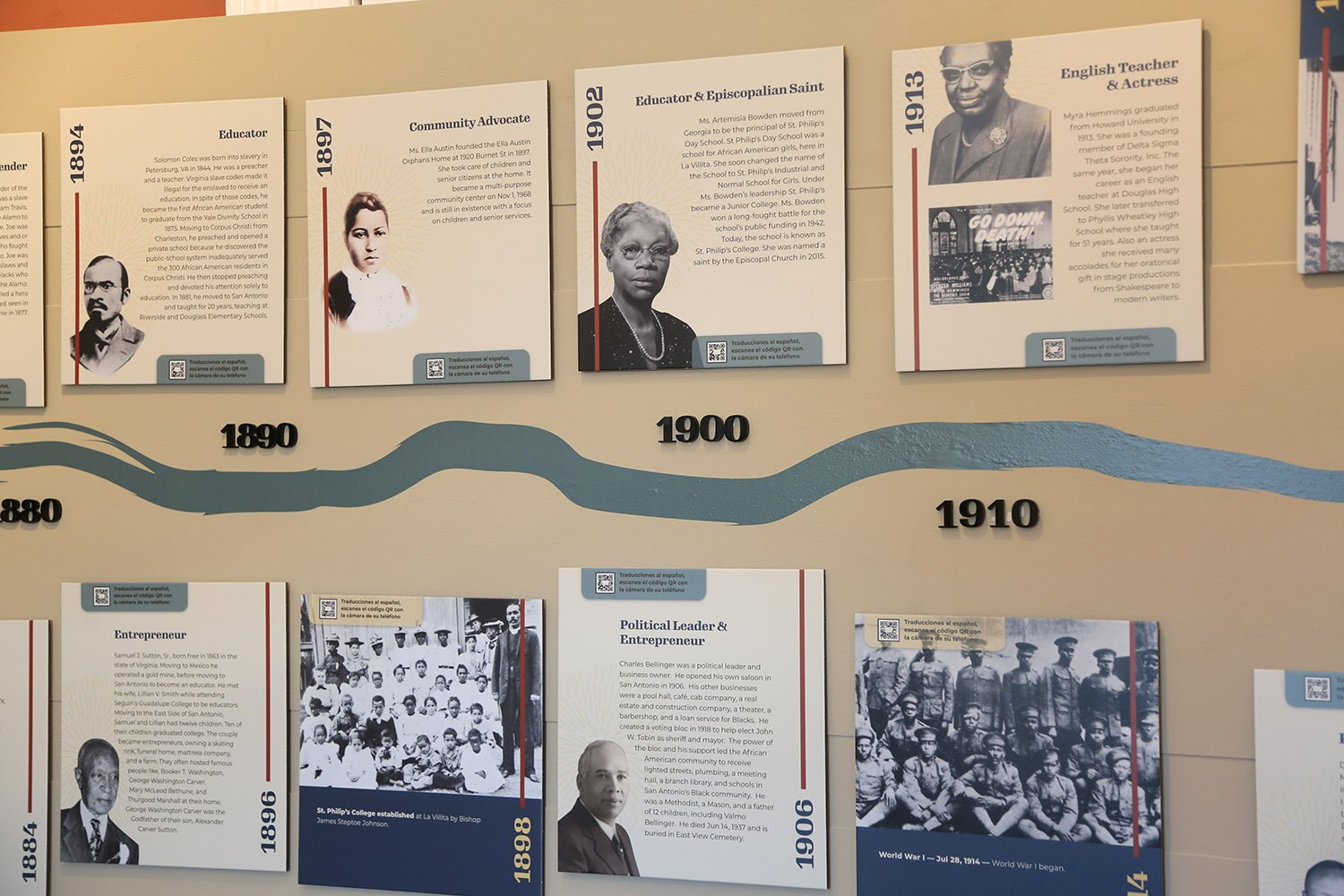 The San Antonio African American Community Archive and Museum is located at La Villita, 218 S. Presa St. Photo by Ben Olivo   Heron