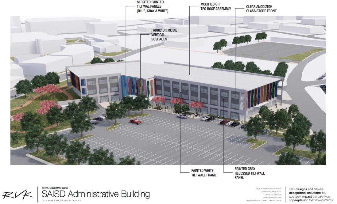 <em><b>Rendering Courtesy of RVK Architects/SAISD</b></em>