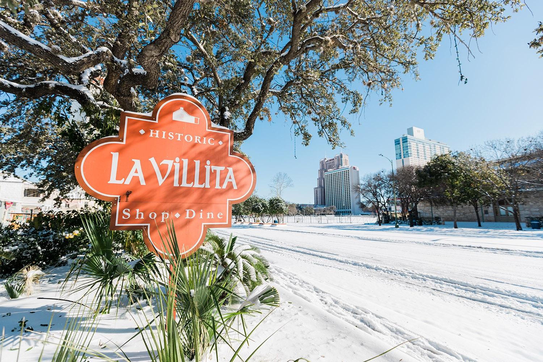 Snow day in San Antonio, Monday, Feb. 15, 2021. <em>Photo by Isaiah Alonzo</em>