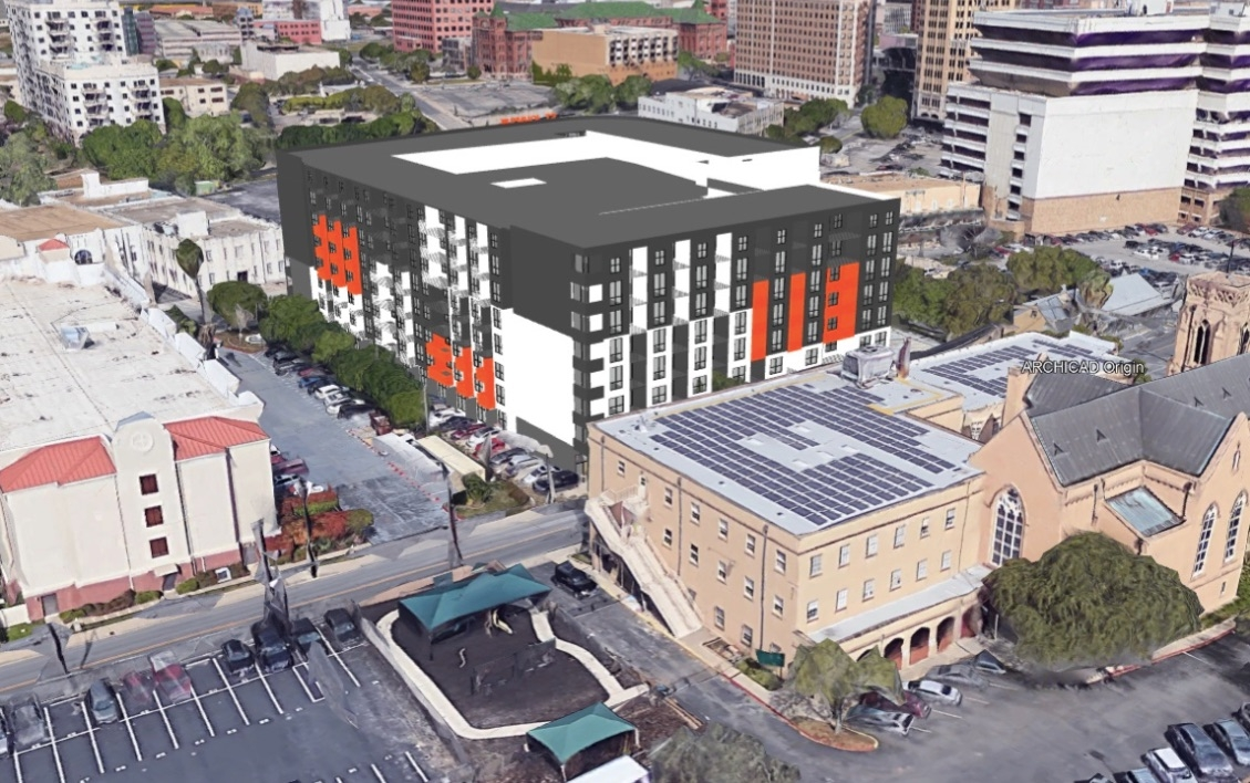 St John S Apartments Design Now Features One Big Round