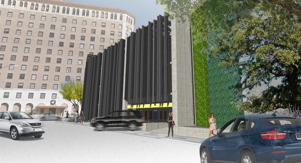 JMJ Development is planning a five-story parking garage at 126 Villita St.
