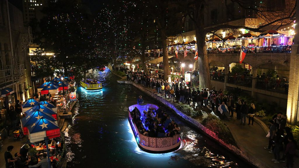 Riverwalk San Antonio Christmas.Commentary Remember How The River Walk Once Glowed San