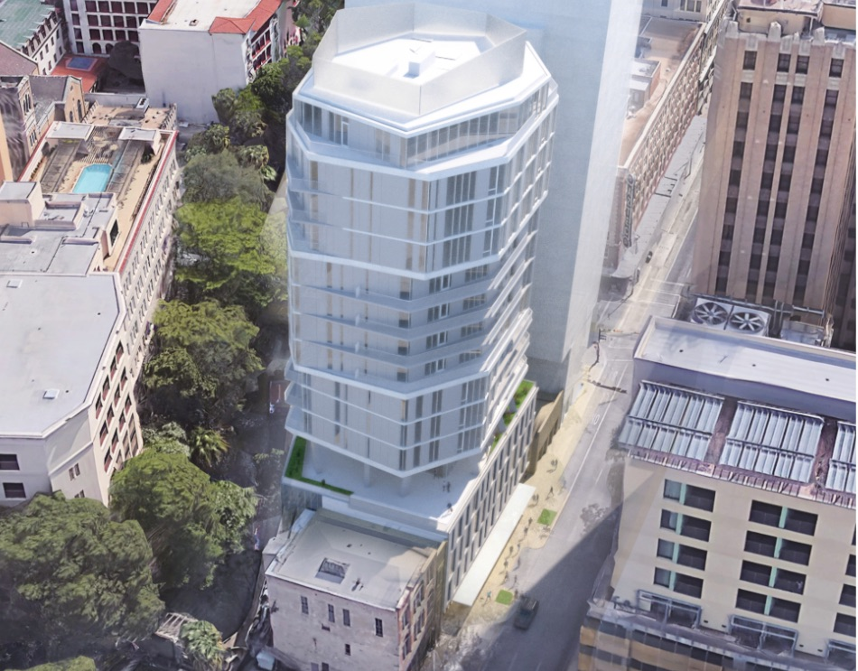 Renderings show 17-level, octagonal Floodgate apartments ...