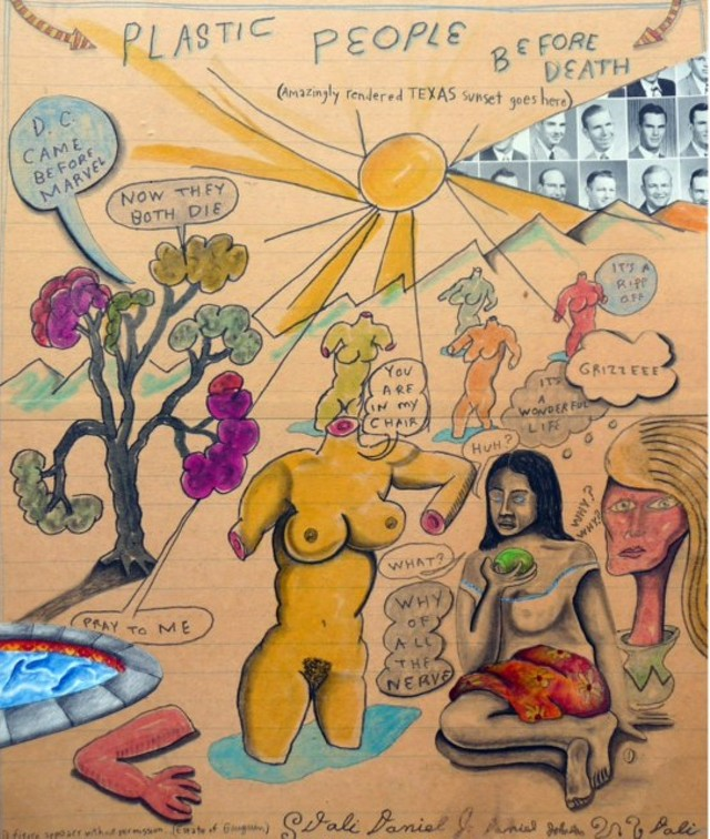 Courtesy Daniel Johnston and Jeff Wheeler