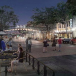 REATA Real Estate is getting ready to purchase five buildings at St. Paul Square from the city of San Antonio. Rendering provided by city of San Antonio in August 2019.