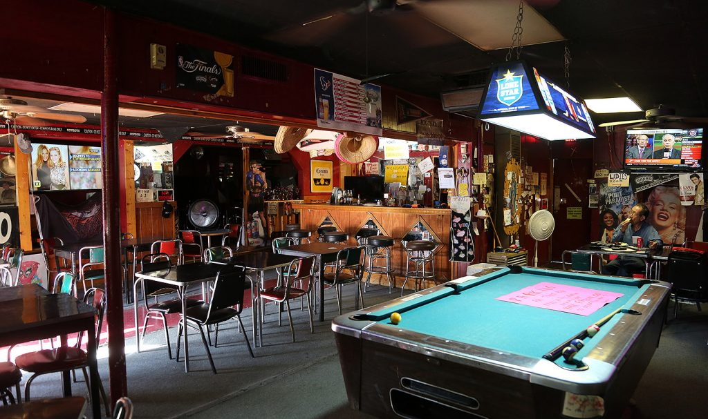 Tony's Bar on a recent afternoon. <em>Photo by Ben Olivo | Heron</em>