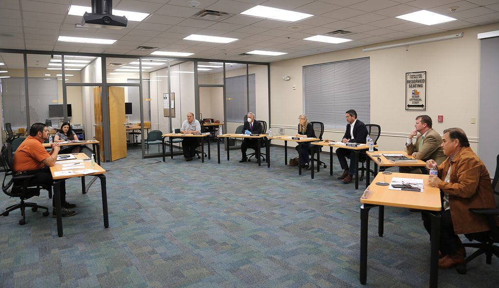 The Bexar Appraisal District Board of Directors meets on Friday, March 20, 2020, to discuss what actions to take amid the COVID-19 outbreak.