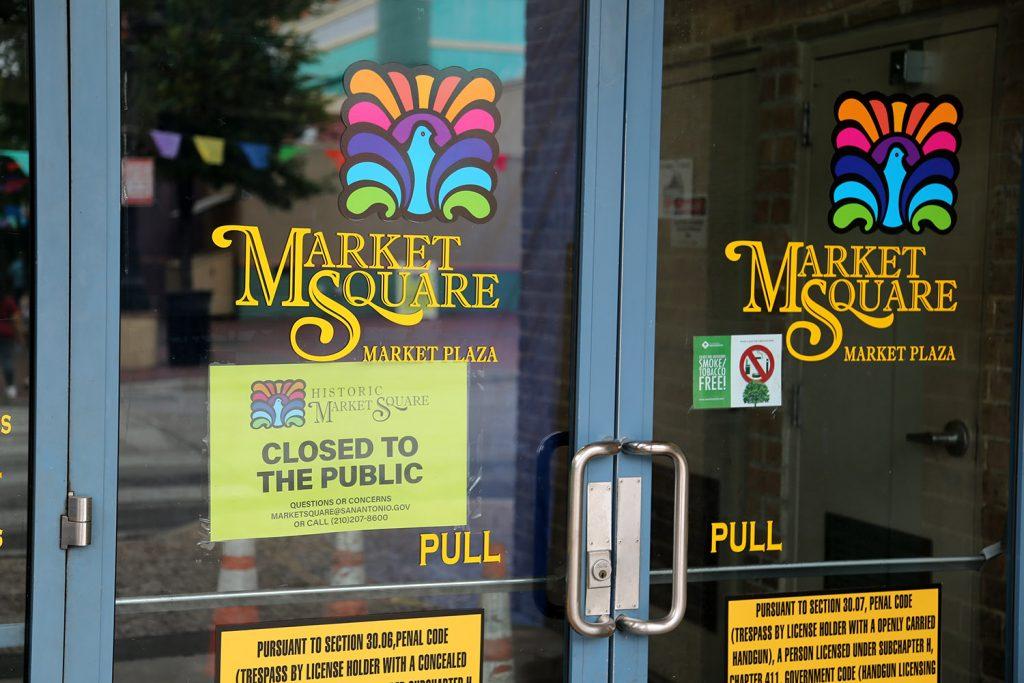 Market Plaza closed Memorial Day 2020
