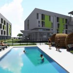 Tampico Apartments rendering provided by San Antonio Housing Authority. Dated October 2019.