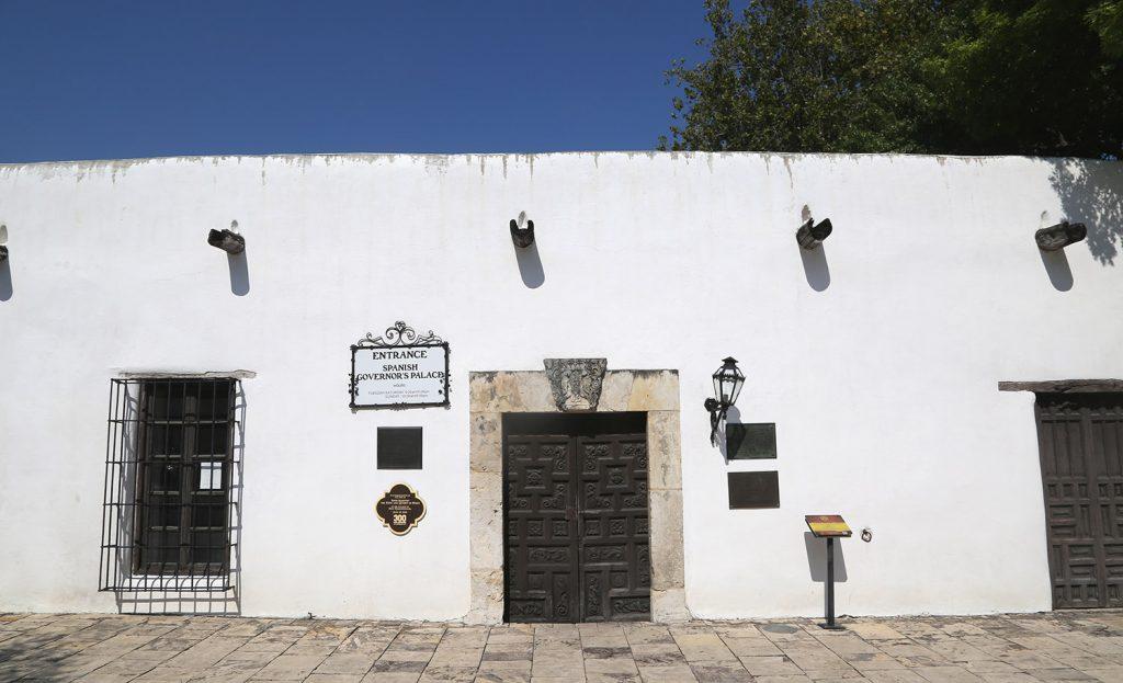 The Spanish Governor's Palace facade in downtown San Antonio taken Monday Aug. 24, 2020.