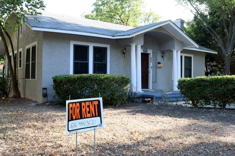 for rent stock image san antonio texas
