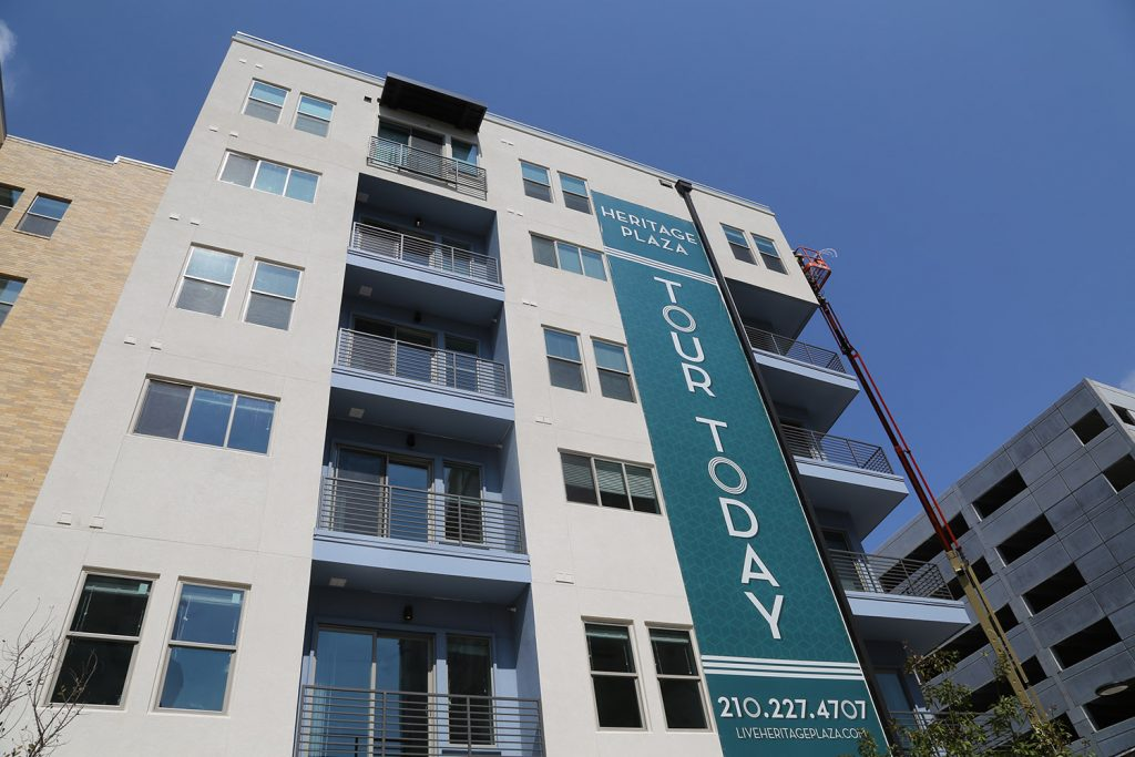 Heritage Plaza, a development by Cypress Real Estate Advisors of Austin, is located at 227 Dwyer Ave.