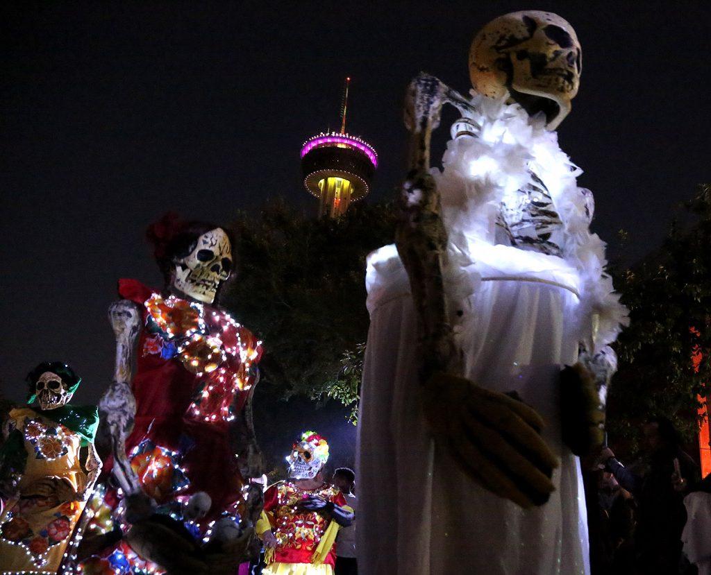 Muertos Fest at Hemisfair in 2019.