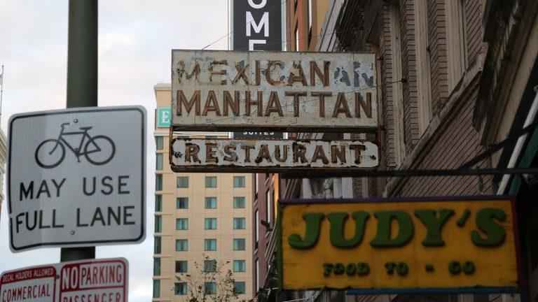 Mexican Manhattan, 110 Soledad St., closed on Saturday, Oct. 24, 2020.