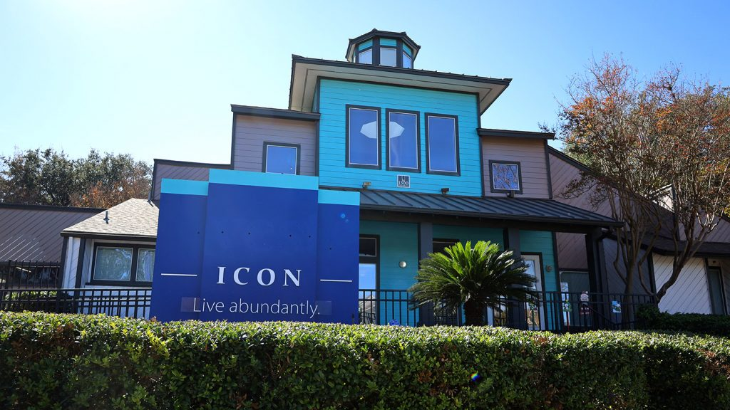 Icon Apartments is located at 1300 Patricia Ave., San Antonio, Texas 78213.
