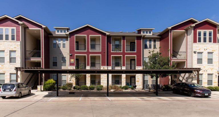 Apartment stock photo San Antonio, Texas, taken Oct. 14, 2020.