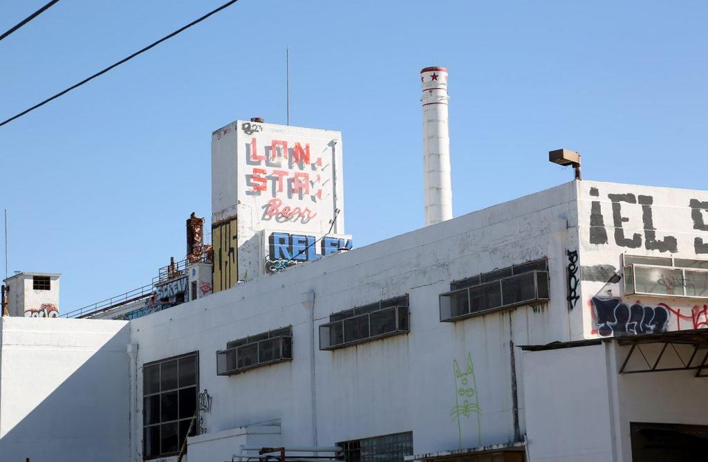 The Lone Star Brewery taken Feb. 6, 2021.