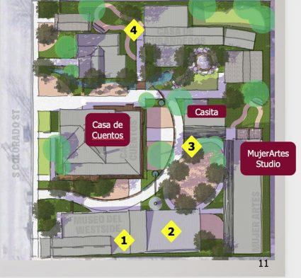 The Esperanza Peace and Justice Center plans to rehabilitate a cluster of seven little homes at its Rinconcito de Esperanza arts hub 816 S. Colorado St.
