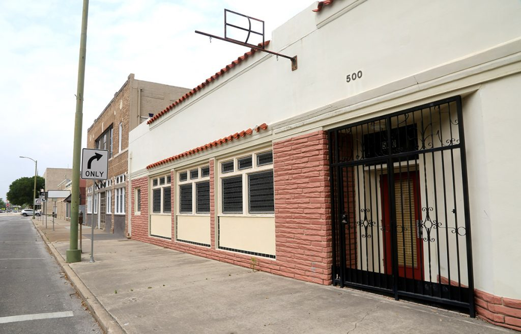 This property at 500 N. Main Ave. is eyed for an apartment building as part of the Riverplace development.