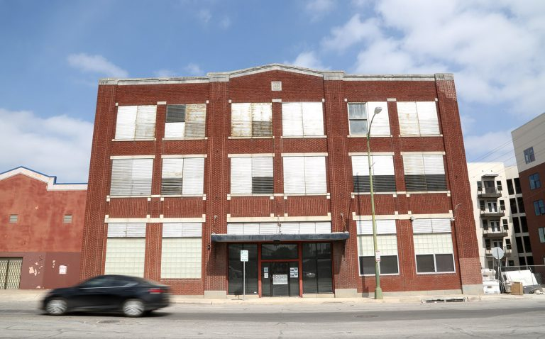 This three-story warehouse at 931 Broadway was recently purchased by the Hixon-Cavender partnership.