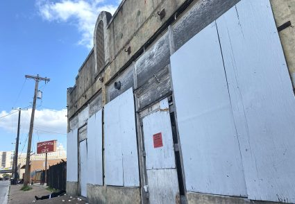 The former Whitt Printing Co. building property next to the former Golden Star restaurant at 821 W. Commerce St. is being eyed for redevelopment.