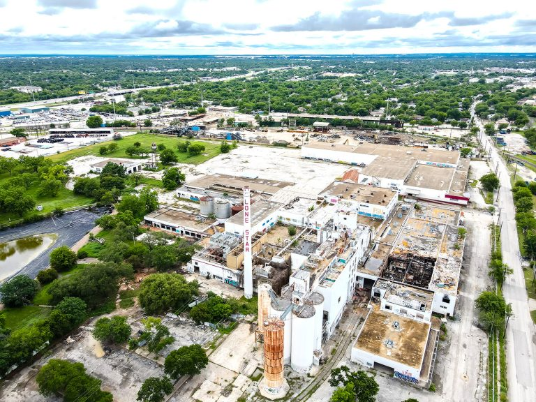 The former Lone Star Brewery is eyed for redevelopment by Midway and GrayStreet Partners. May 23, 2021.