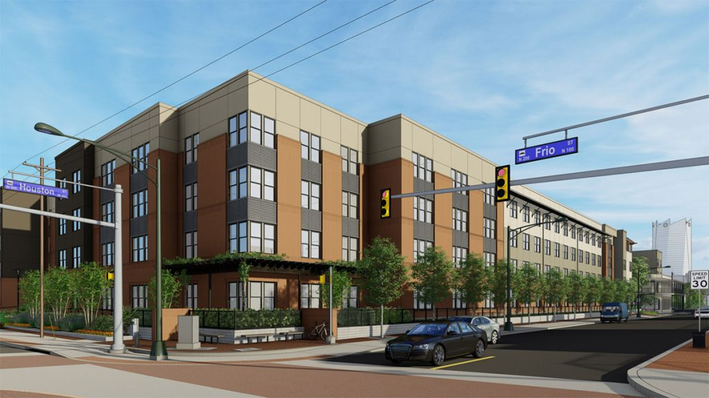 Cattleman Square Lofts is being planned for 811 W. Houston St.