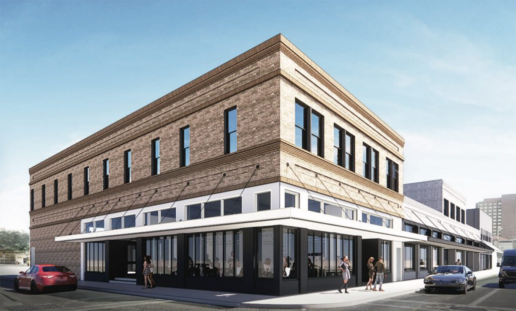 The Leeds building, 345 W. Commerce St., is looking to be renovated by Cory Stehr and a business partner.