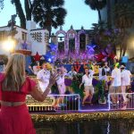 The Texas Cavaliers River Parade was back Monday night, June 21, after being canceled last year due to Covid-19.