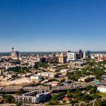 Skyline downtown San Antonio. May 20, 2021.
