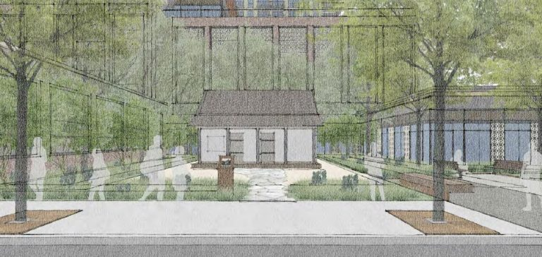 The de la Garza House would be incorporated into the new development planned by Weston Urban for the area bound by the former Continental Hotel and Arana buildings.