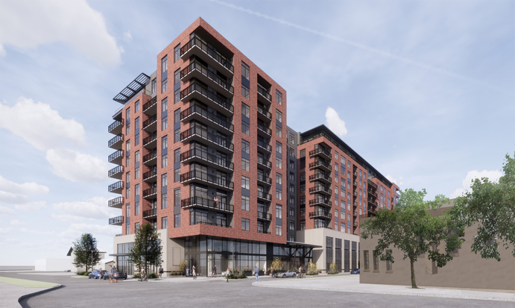 A 10-story mixed-use project by Sabot Development of Austin is planned for 322 E. Euclid Ave. near the Pearl.