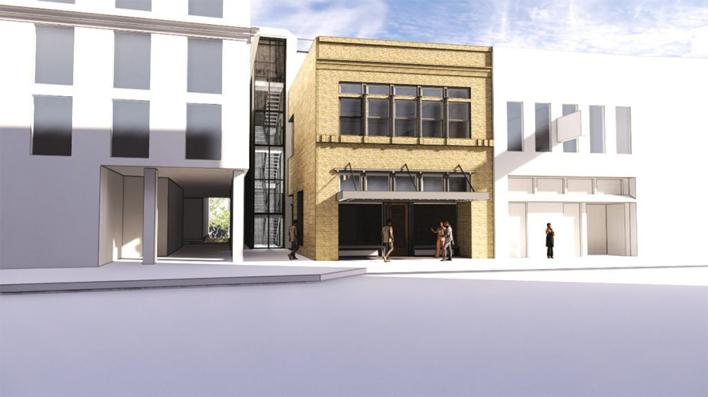 R.S. Merit Real Estate Co. is planning an 11-room span inside a circa-1877 building at 112 Soledad St.