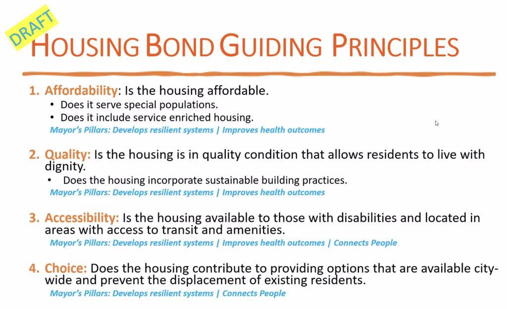 2022 San Antonio Housing Bond guiding principles. Aug. 25, 2021.