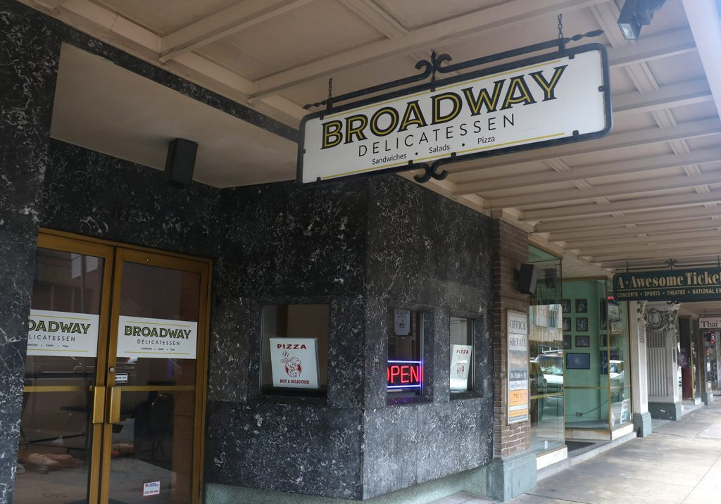 Broadway Delicatessen recently opened at 118 Broadway. Sept. 2, 2021.