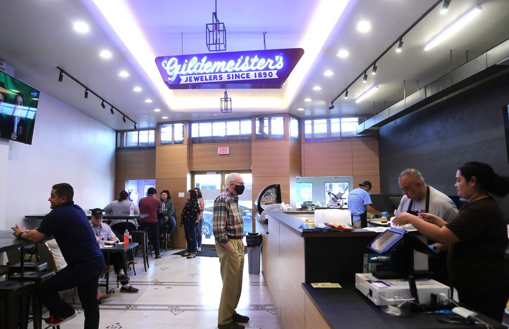 Broadway Delicatessen recently opened at 118 Broadway.