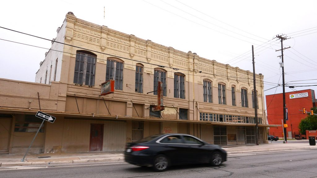 The former Estrada Hardware building at 830 W. Commerce St. has been sold to a development team that includes a local real estate agent.